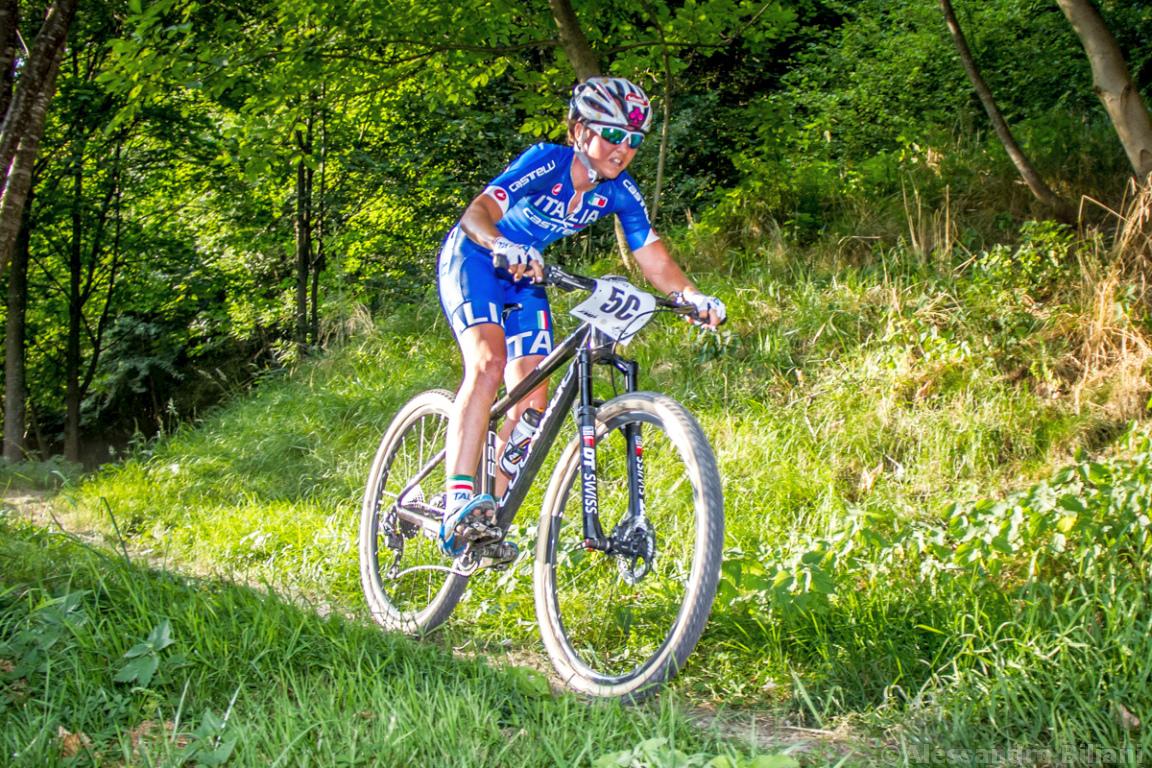 Mistrzostwa Europy MTB 2015 Chies d'Alpago Włochy szrtafeta 023