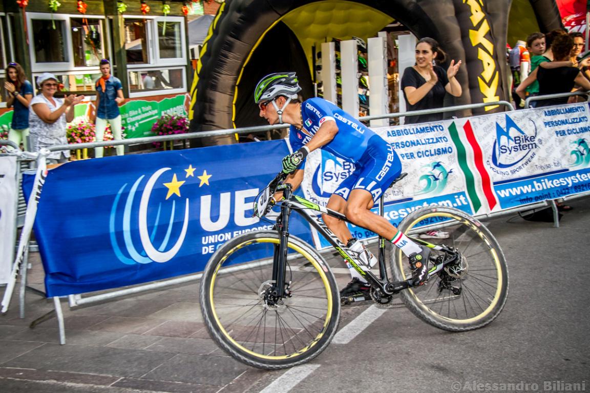 Mistrzostwa Europy MTB 2015 Chies d'Alpago Włochy szrtafeta 027