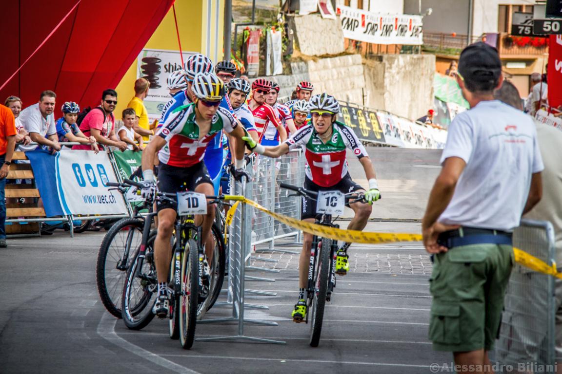 Mistrzostwa Europy MTB 2015 Chies d'Alpago Włochy szrtafeta 031