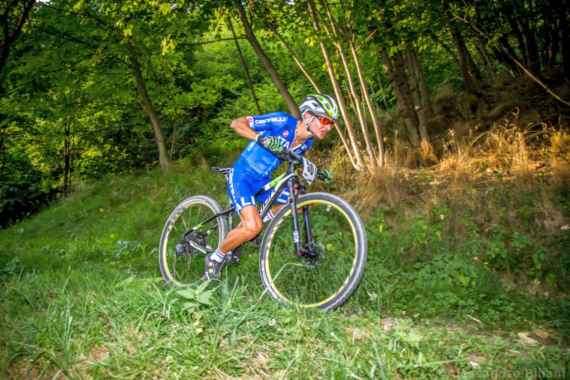 Mistrzostwa Europy MTB 2015 Chies d'Alpago Włochy szrtafeta 034