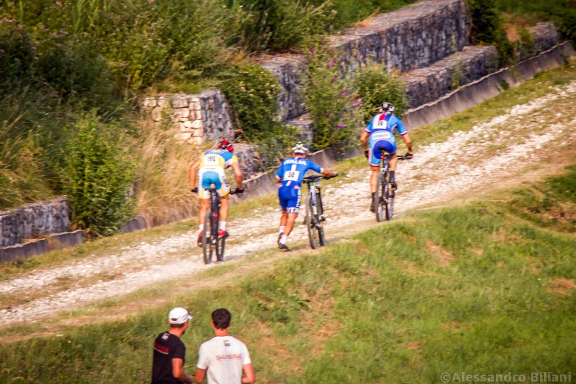 Mistrzostwa Europy MTB 2015 Chies d'Alpago Włochy szrtafeta 035