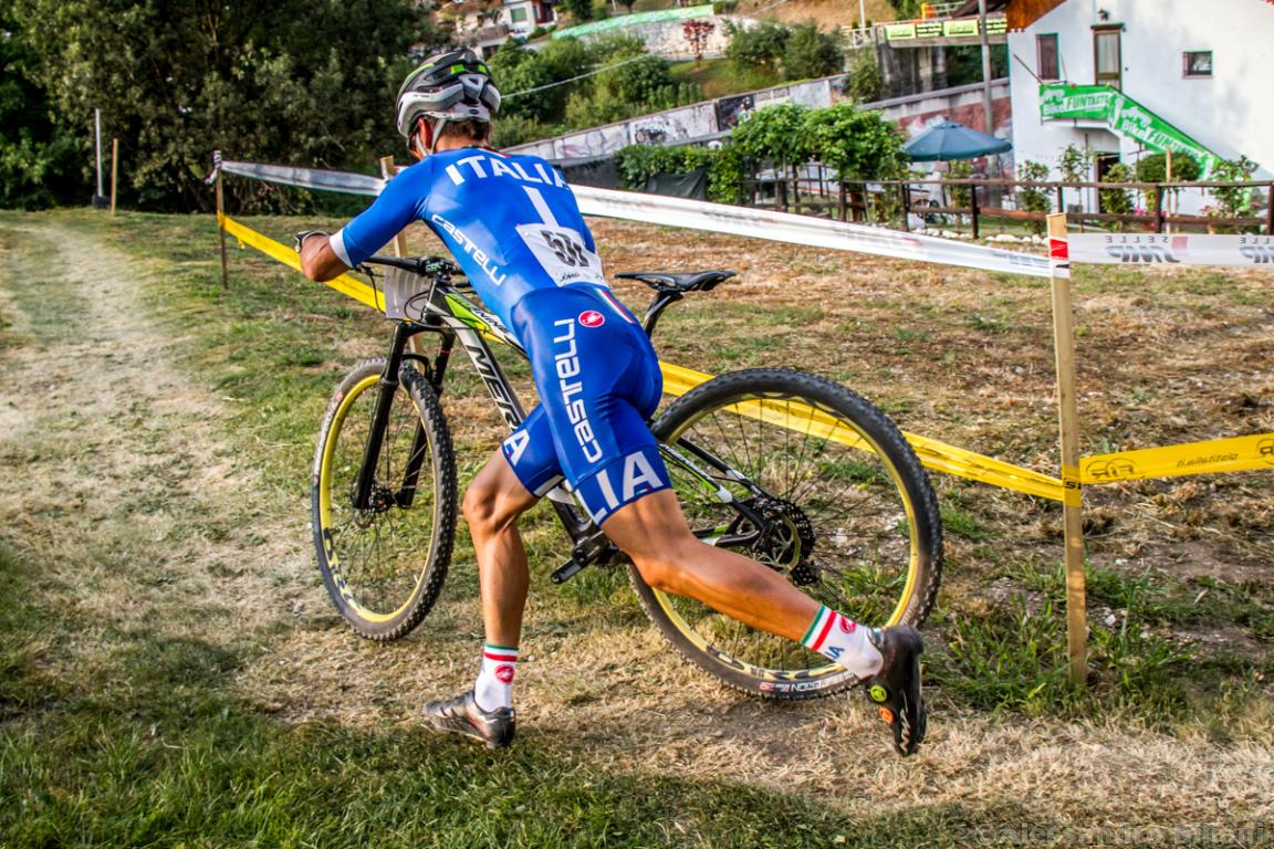 Mistrzostwa Europy MTB 2015 Chies d'Alpago Włochy szrtafeta 036
