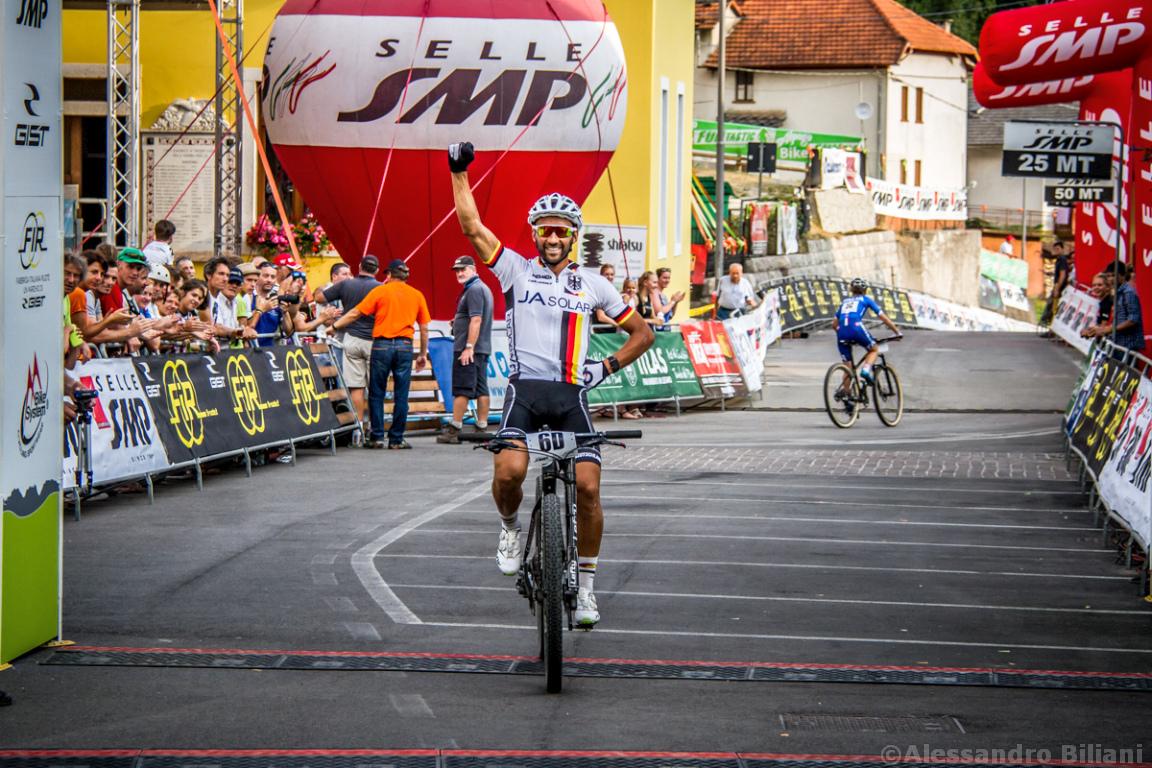 Mistrzostwa Europy MTB 2015 Chies d'Alpago Włochy szrtafeta 038