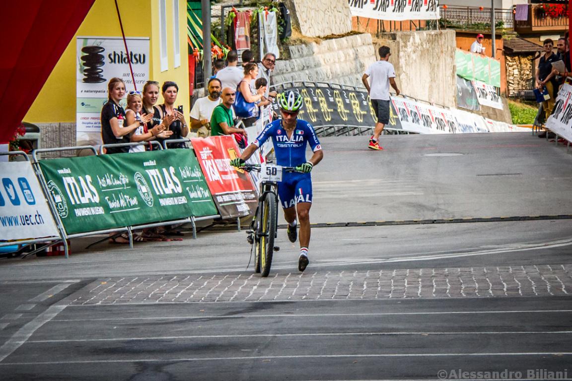 Mistrzostwa Europy MTB 2015 Chies d'Alpago Włochy szrtafeta 042
