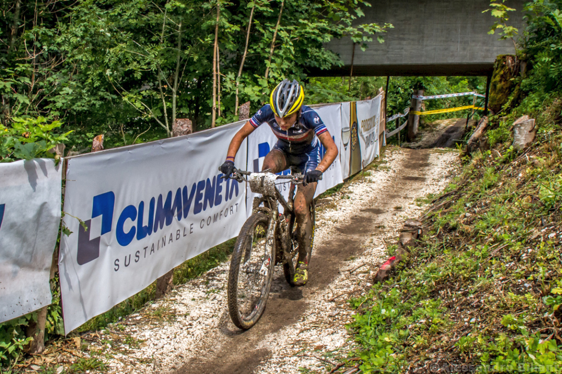 Mistrzostwa Europy MTB 2015 Chies d'Alpago Włochy u23 kobiety orliczki 002