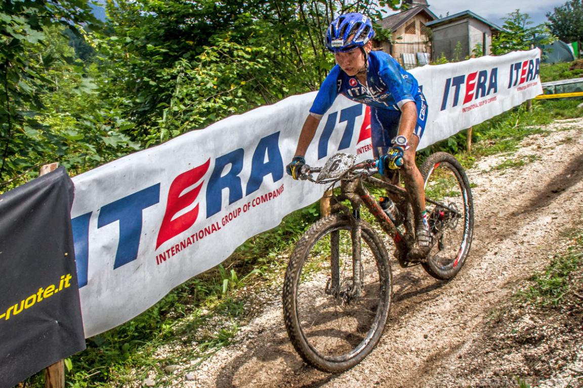 Mistrzostwa Europy MTB 2015 Chies d'Alpago Włochy u23 kobiety orliczki 007