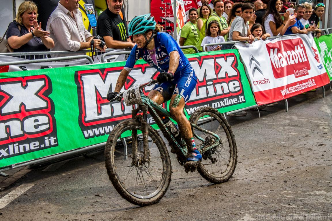 Mistrzostwa Europy MTB 2015 Chies d'Alpago Włochy u23 kobiety orliczki 009