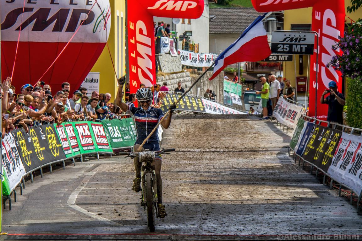 Mistrzostwa Europy MTB 2015 Chies d'Alpago Włochy u23 kobiety orliczki 010