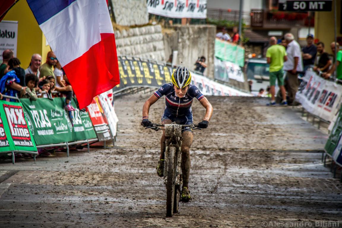 Mistrzostwa Europy MTB 2015 Chies d'Alpago Włochy u23 kobiety orliczki 012
