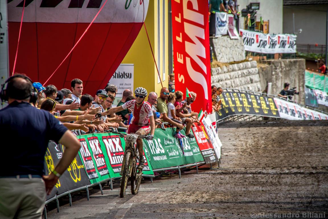 Mistrzostwa Europy MTB 2015 Chies d'Alpago Włochy u23 kobiety orliczki 013