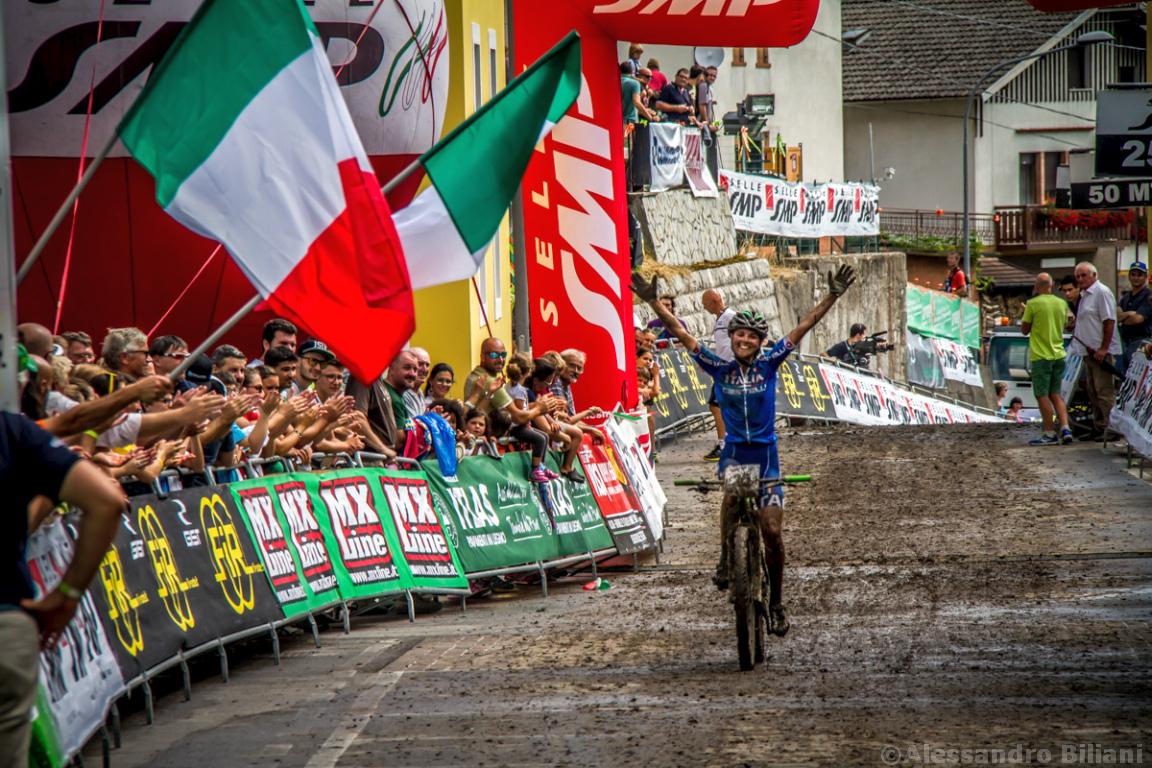 Mistrzostwa Europy MTB 2015 Chies d'Alpago Włochy u23 kobiety orliczki 015
