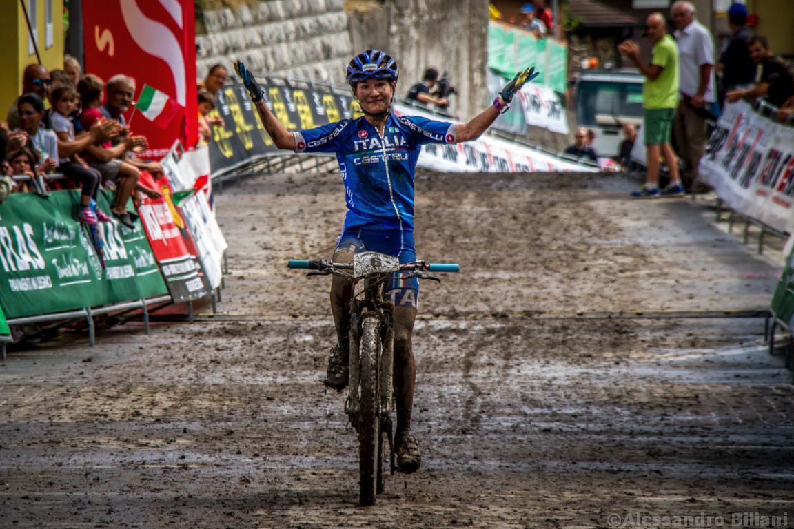 Mistrzostwa Europy MTB 2015 Chies d'Alpago Włochy u23 kobiety orliczki 017