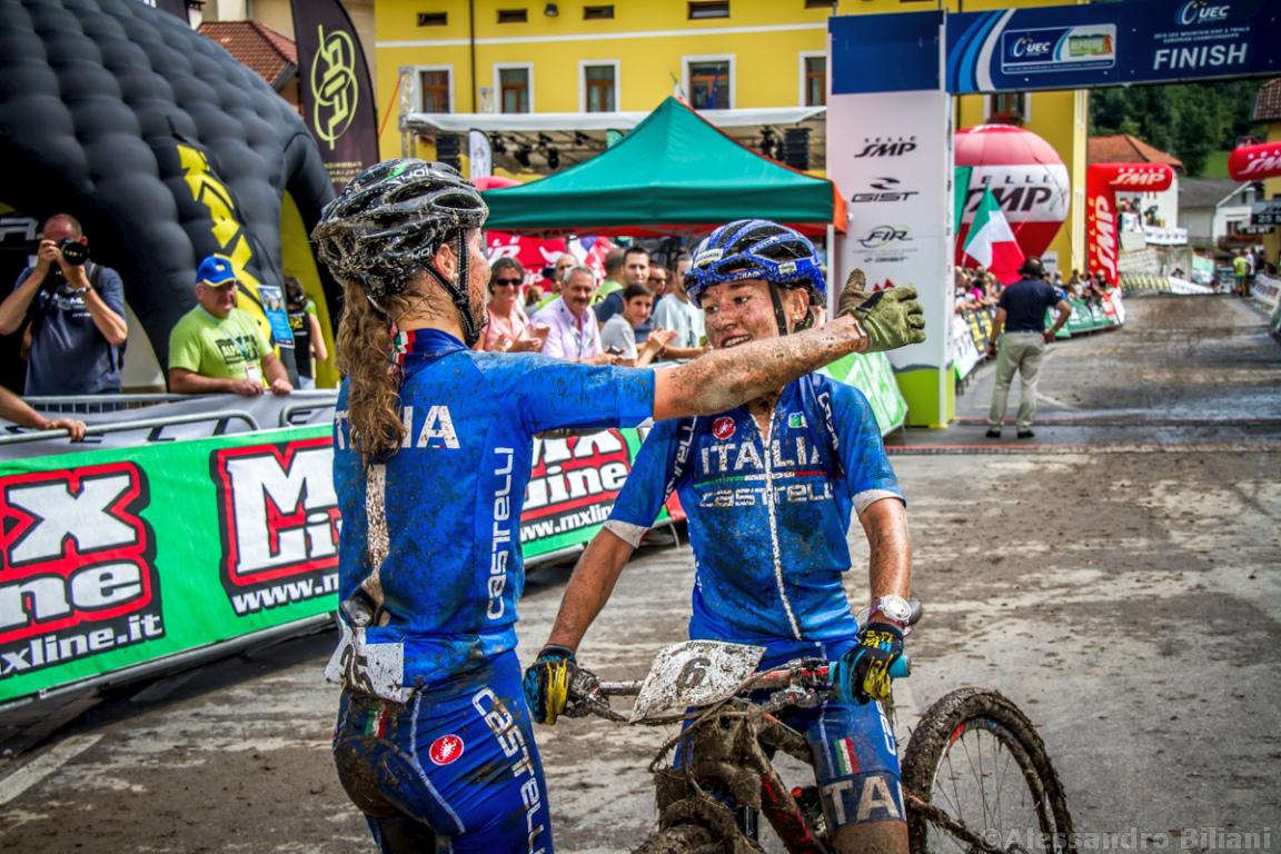 Mistrzostwa Europy MTB 2015 Chies d'Alpago Włochy u23 kobiety orliczki 018