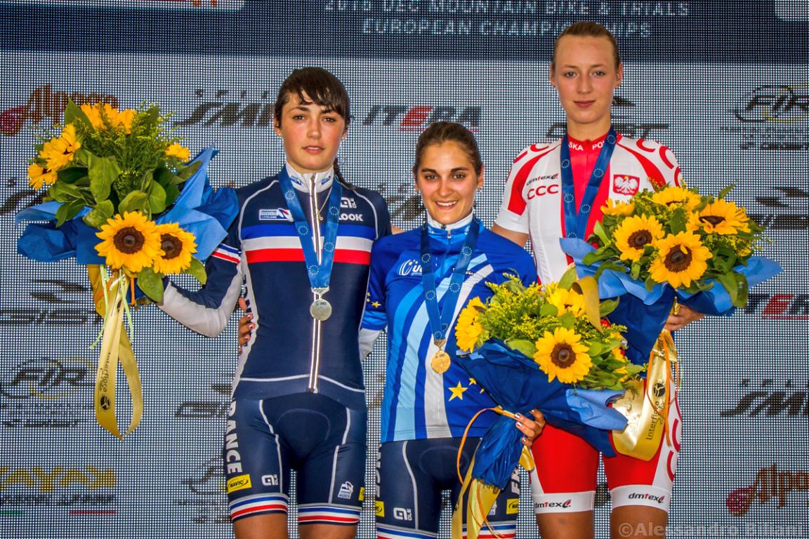 Mistrzostwa Europy MTB 2015 Chies d'Alpago Włochy u23 kobiety orliczki 023
