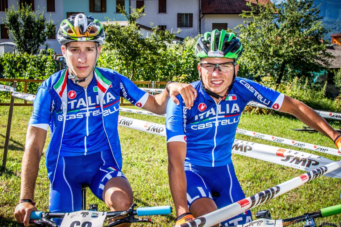 Mistrzostwa Europy MTB 2015 Chies d'Alpago Włochy u23 mężczyźni orliki 001