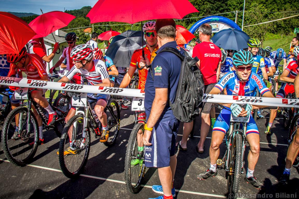 Mistrzostwa Europy MTB 2015 Chies d'Alpago Włochy u23 mężczyźni orliki 002