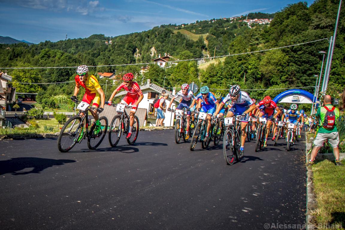 Mistrzostwa Europy MTB 2015 Chies d'Alpago Włochy u23 mężczyźni orliki 004