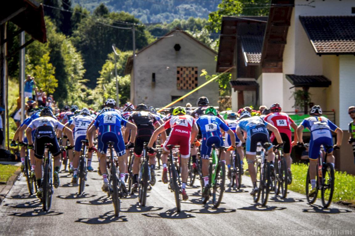 Mistrzostwa Europy MTB 2015 Chies d'Alpago Włochy u23 mężczyźni orliki 005