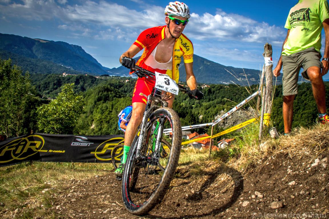 Mistrzostwa Europy MTB 2015 Chies d'Alpago Włochy u23 mężczyźni orliki 006