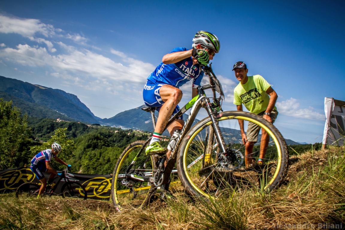 Mistrzostwa Europy MTB 2015 Chies d'Alpago Włochy u23 mężczyźni orliki 012