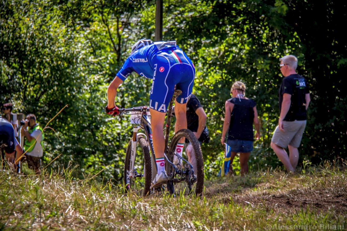 Mistrzostwa Europy MTB 2015 Chies d'Alpago Włochy u23 mężczyźni orliki 016