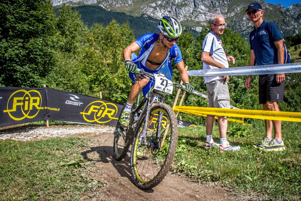 Mistrzostwa Europy MTB 2015 Chies d'Alpago Włochy u23 mężczyźni orliki 021