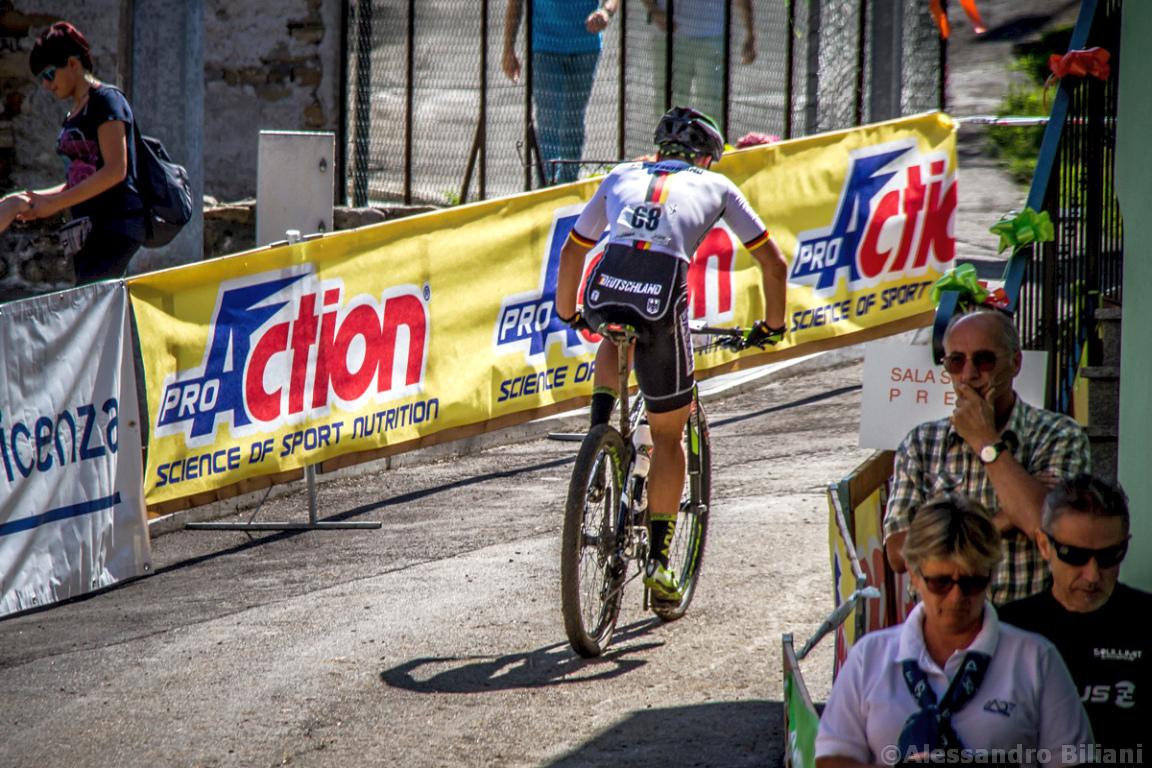 Mistrzostwa Europy MTB 2015 Chies d'Alpago Włochy u23 mężczyźni orliki 024