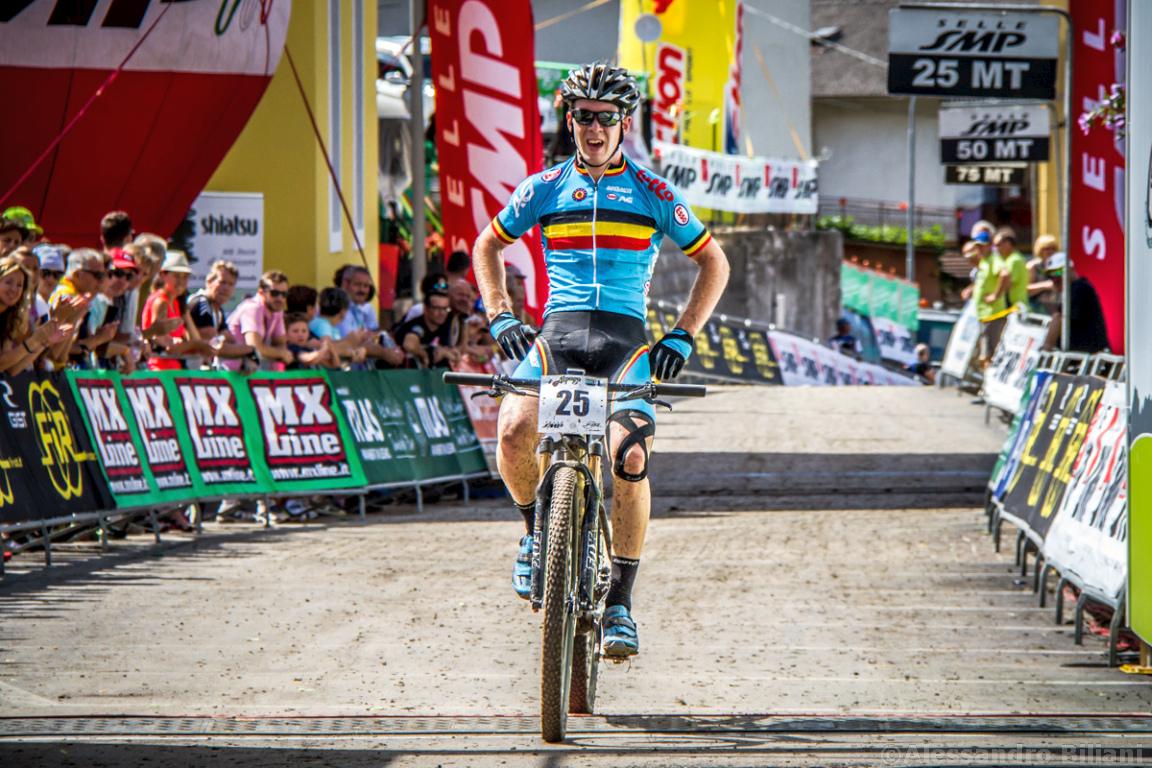Mistrzostwa Europy MTB 2015 Chies d'Alpago Włochy u23 mężczyźni orliki 028