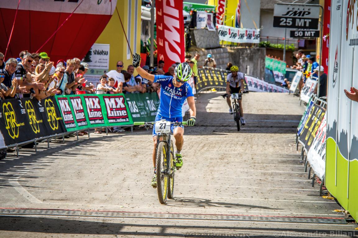 Mistrzostwa Europy MTB 2015 Chies d'Alpago Włochy u23 mężczyźni orliki 029