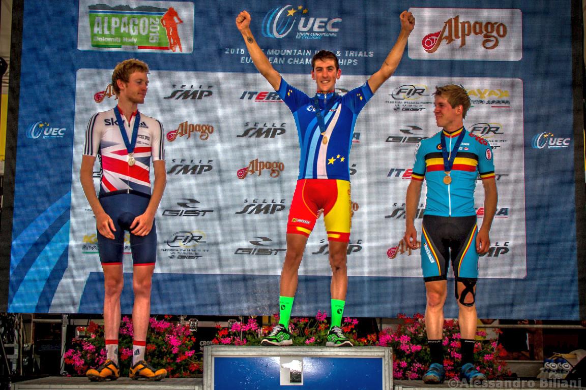 Mistrzostwa Europy MTB 2015 Chies d'Alpago Włochy u23 mężczyźni orliki 031