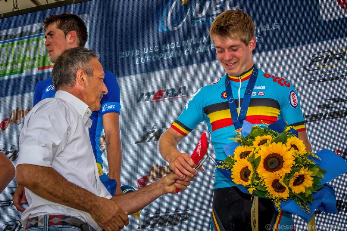 Mistrzostwa Europy MTB 2015 Chies d'Alpago Włochy u23 mężczyźni orliki 036