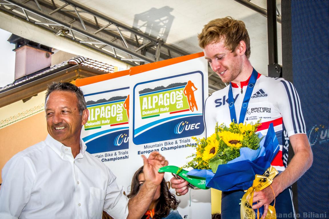 Mistrzostwa Europy MTB 2015 Chies d'Alpago Włochy u23 mężczyźni orliki 037