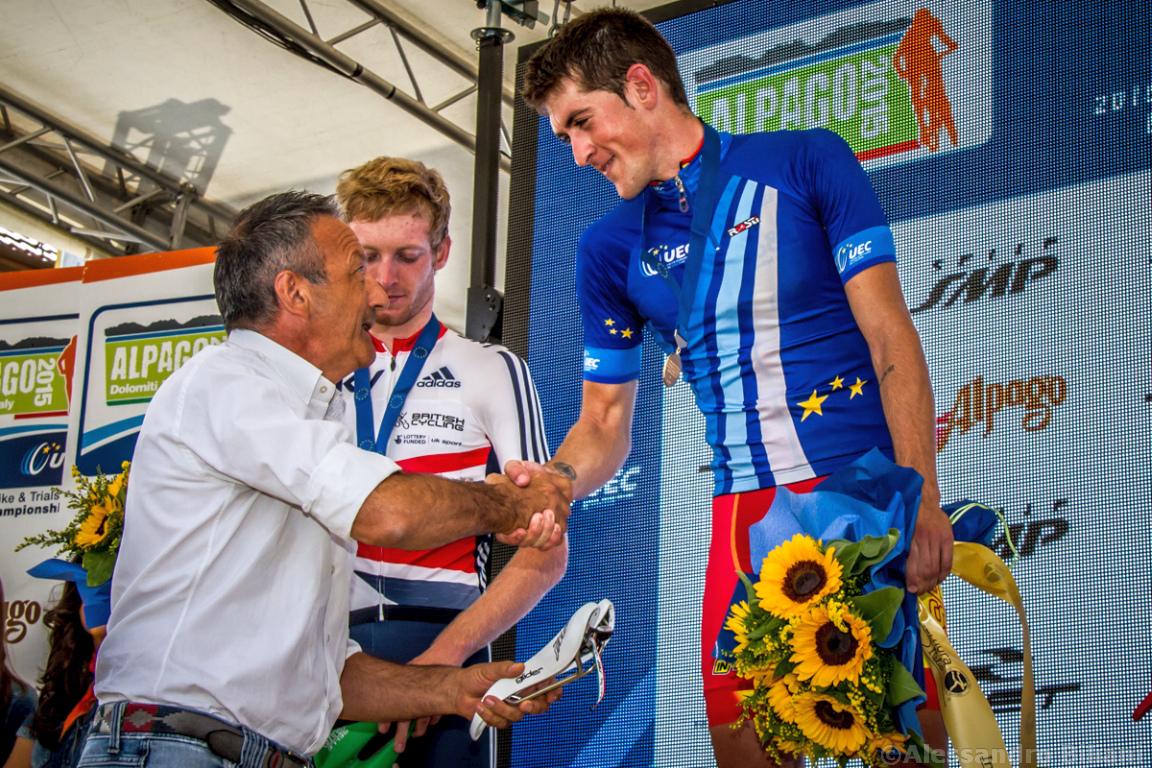 Mistrzostwa Europy MTB 2015 Chies d'Alpago Włochy u23 mężczyźni orliki 038