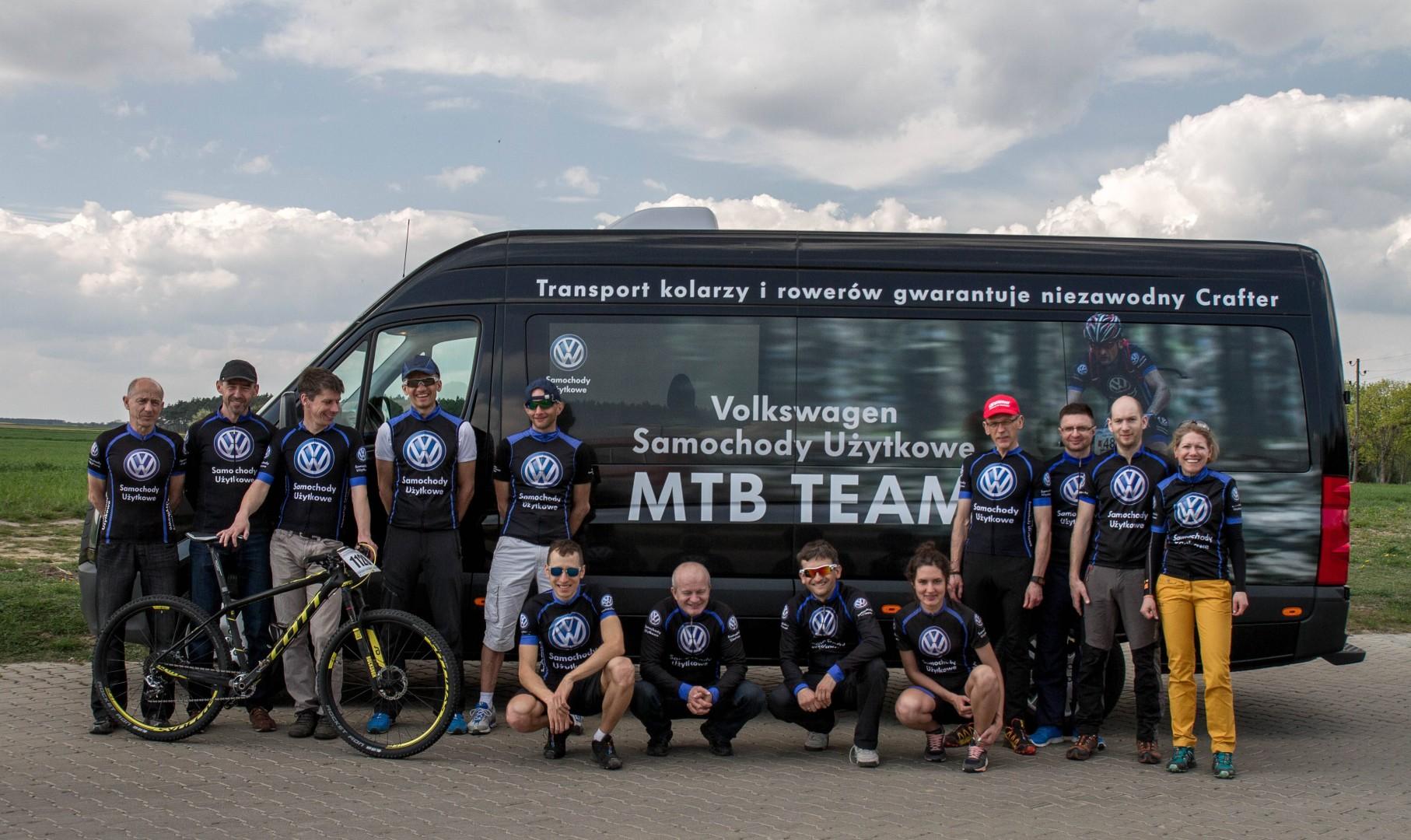 Komentarze postartowe zawodników Volkwsagen Samochody Użytkowe MTB Team