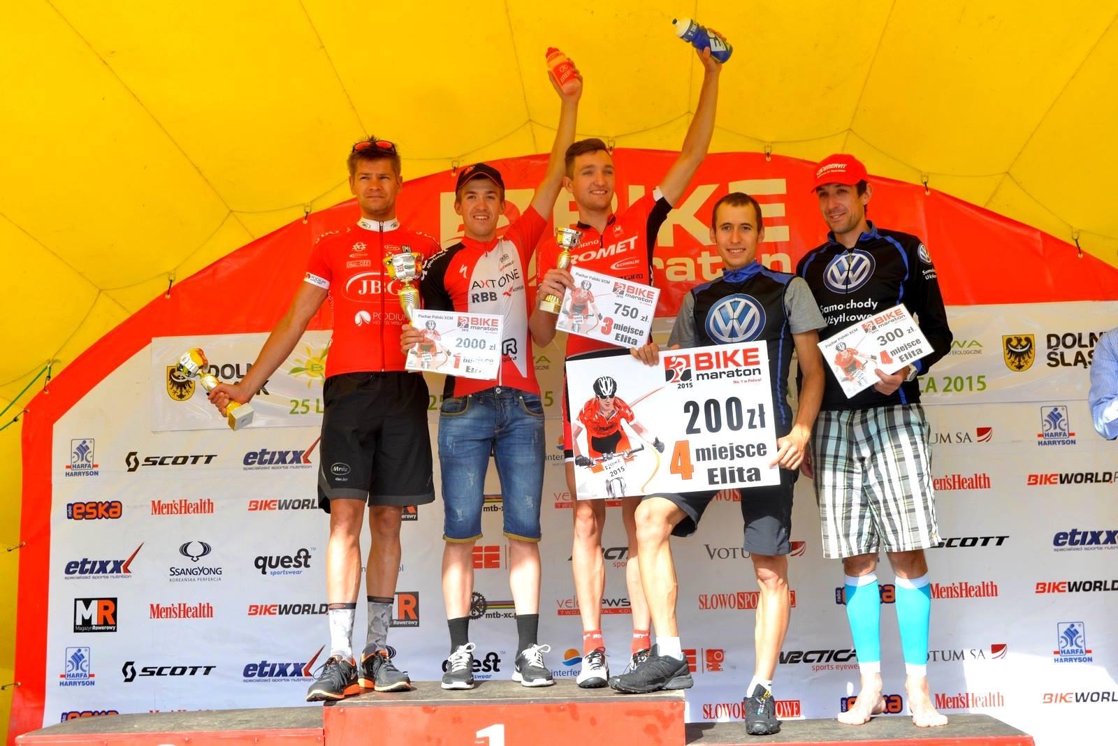 Michał Ficek (VW Samochody Użytkowe) – Bike Maraton / PP XCM – Bielawa