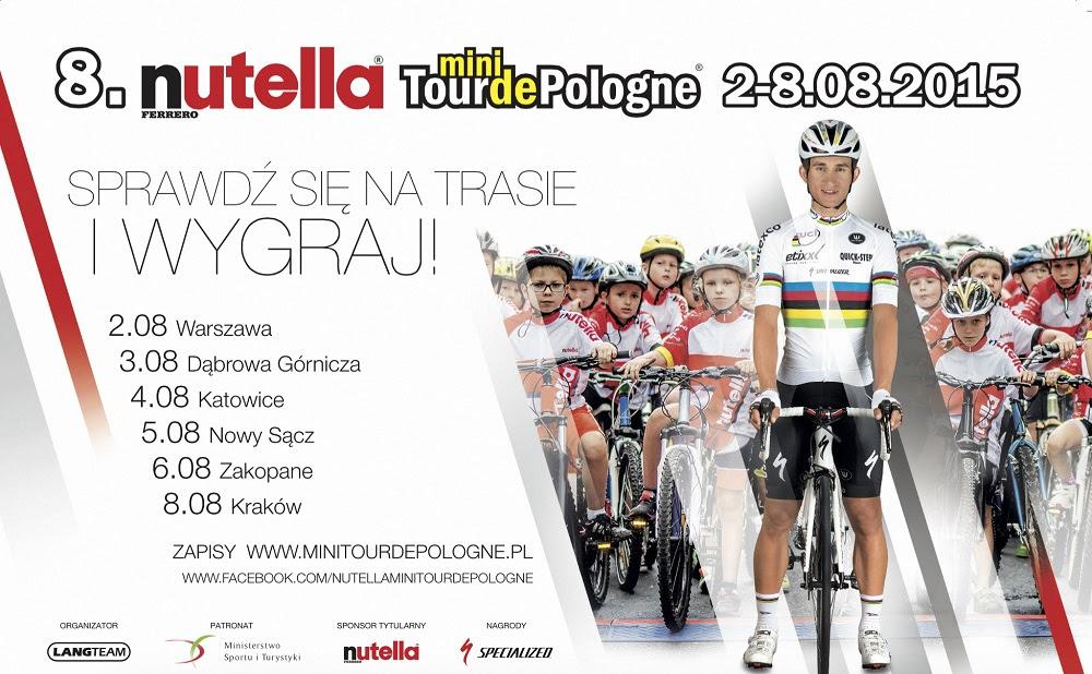 Sprawdź się z Nutellą na trasie 8. edycji wyścigu Nutella Mini Tour de Pologne!