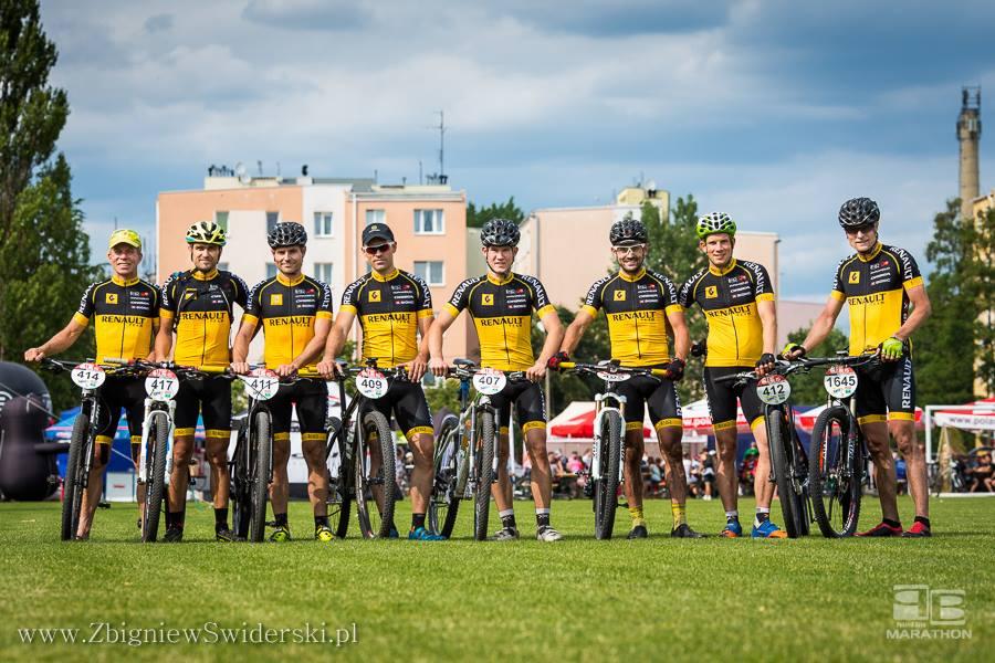Arkadiusz Jusiński (Renault Team) – Amatorskie DMP MTB – Otwock