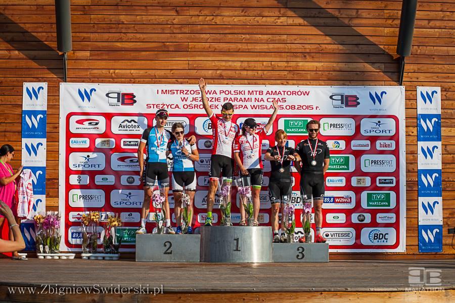 Katarzyna Pakulska (TRW Cloudware) – Mistrzostwa Polski MTB Amatorów w jeździe parami na czas // Lotto Poland Bike Marathon Stężyca