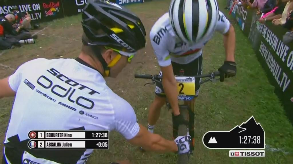 """Julien przez dużą część wyścigu jechał na """"soft tire"""" jak sam powiedział w wywiadzie."""