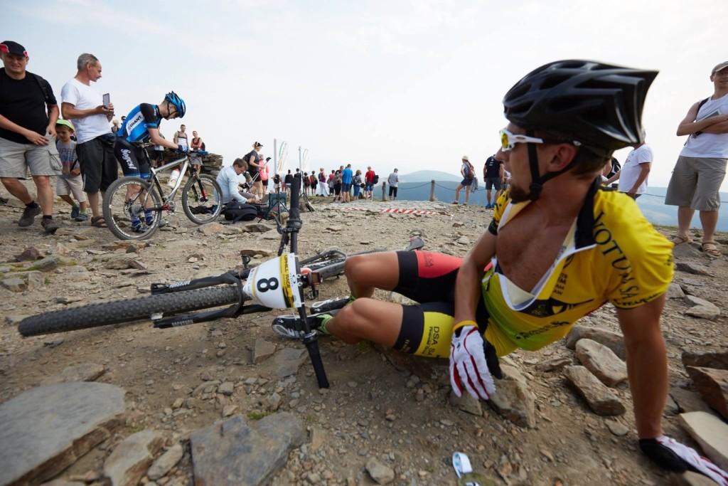 Michał Antosz (Votum MTB Wrocław) - Uphill Race Śnieżka - Karpacz - fot. Łukasz Szrubowski