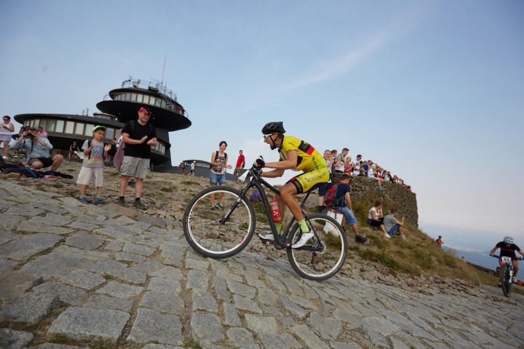 Michał Antosz (Votum MTB Wrocław) - Uphill Race Śnieżka - Karpacz - fot. organizator