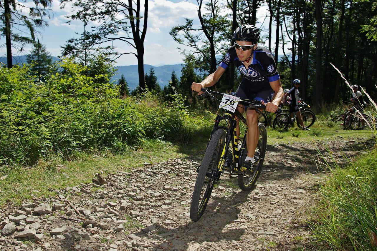 Michał Ficek (Volkswagen Samochody Użytkowe) – Uphill Race Śnieżka – Karpacz