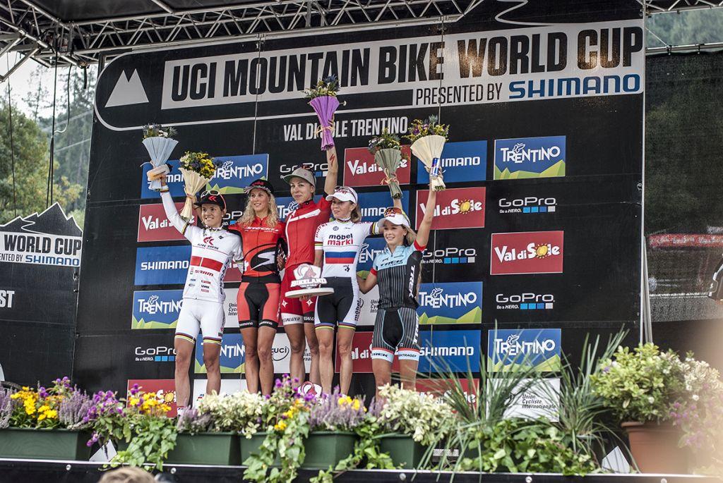 Maja Włoszczowska 4. w Pucharze Świata w Val di Sole [PR]