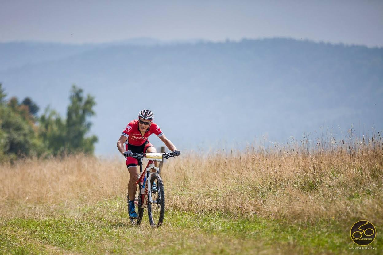 Dominik Grządziel (Romet MTB Team) Cyklokarpaty – Dukla