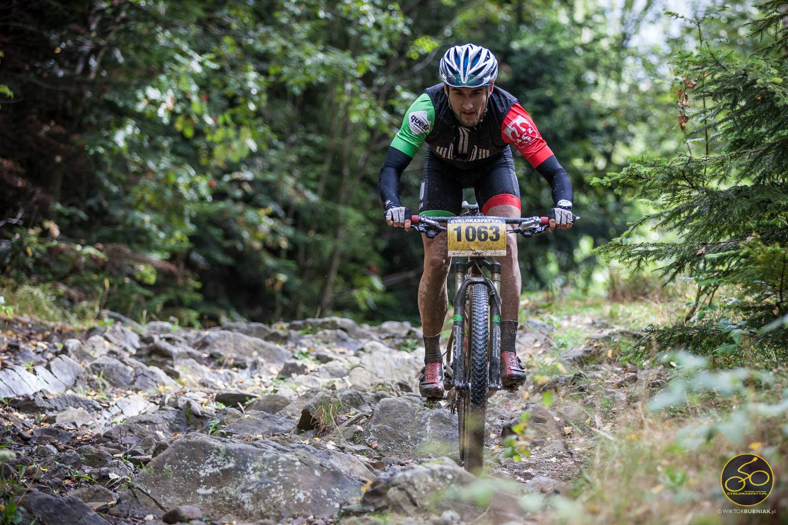 Michał Pękala – AGH Cycling – Cyklokarpaty – Koninki