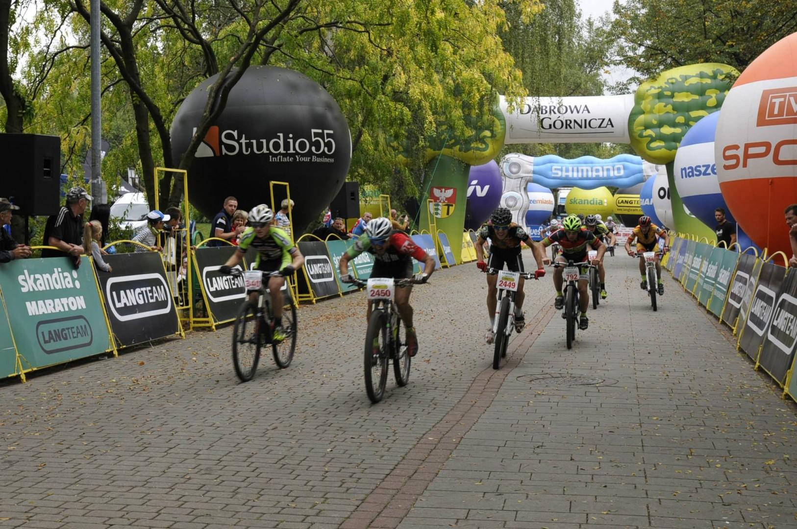 Michał Pękala (AGH Cycling) – Skandia Maraton – Dąbrowa Górnicza
