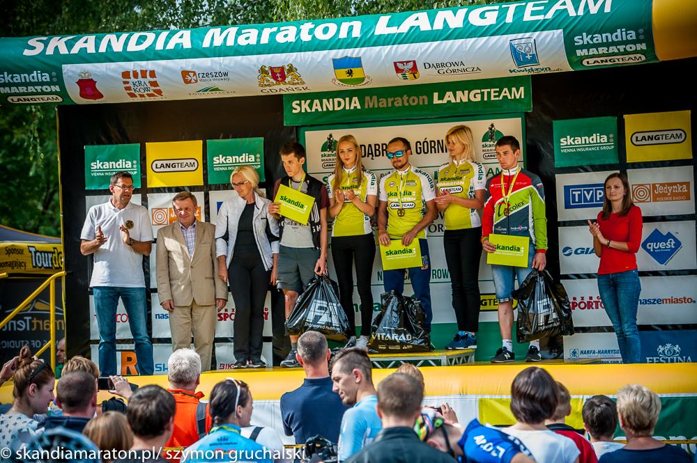 Michał Pękala (AGH Cycling) - Skandia Maraton - Dąbrowa Górnicza 2