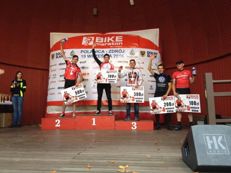 Piotr Kurczab (SGR Srebrna Góra) – Bike Maraton – Polanica-Zdrój