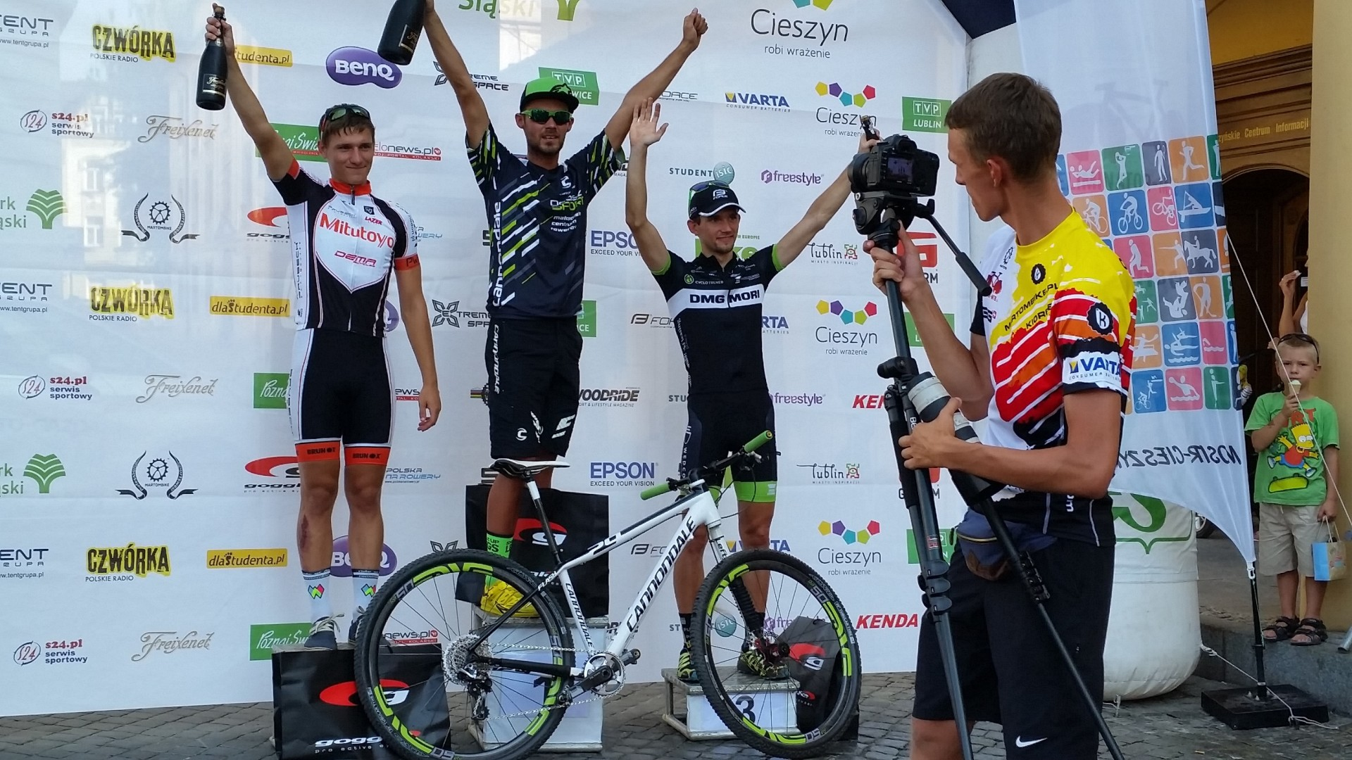 Tomasz Dygacz (DMG Mori Cyclo Trener) – Eliminator MTB – Cieszyn