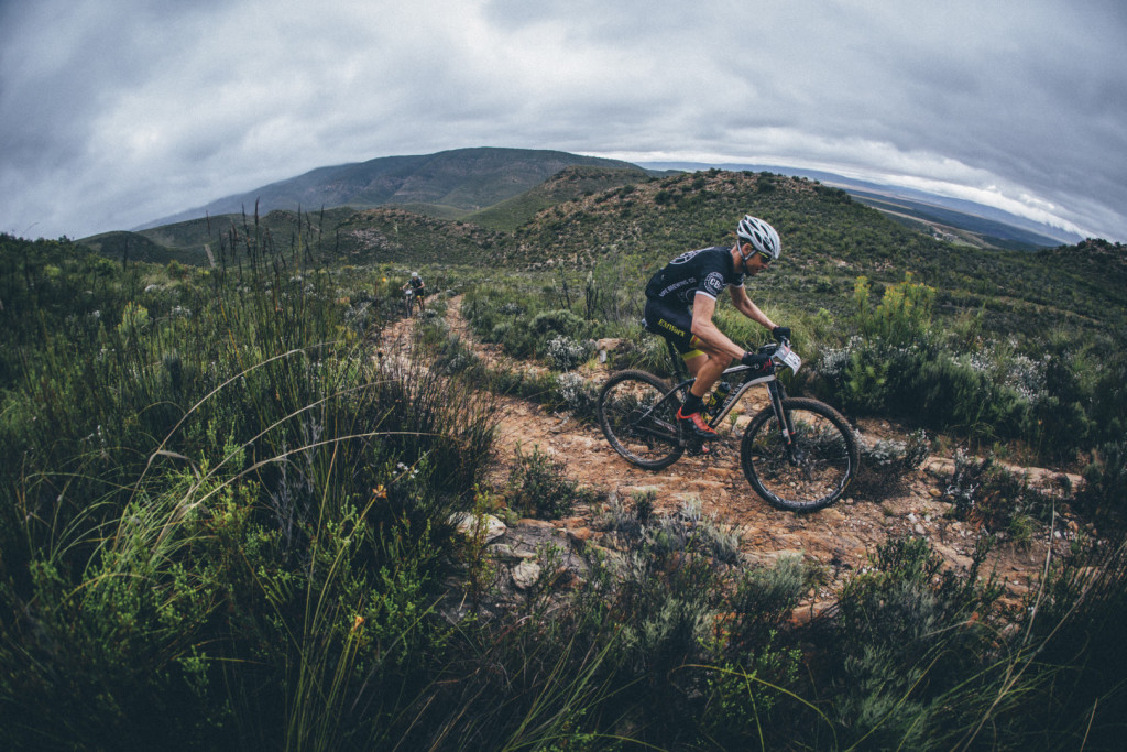 Craig Gerber during stage 3 of the 2015 Cape Pioneer Trek between Oudtshoorn and De Rust. http://capepioneer.co.za/ Photo by Ewald Sadie